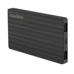 Power Bank Slim 4000 | Li-polimerowa | czarny