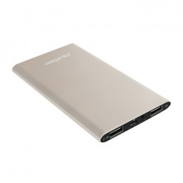 Power Bank Slim 4000 | Li-polimerowa | złoty