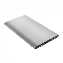 Power Bank Slim 4000 | Li-polimerowa | srebrny