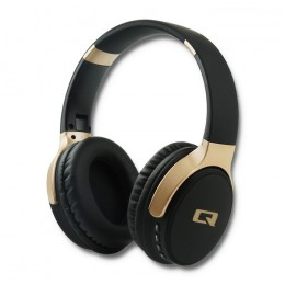 8040f7939aecb Słuchawki Premium bezprzewodowe nauszne z mikrofonem | BT | Mp3 | Czarne