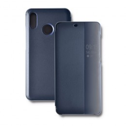 Etui Smart Flip Cover do Huawei P20 Lite | Granatowe