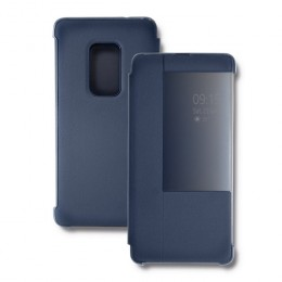 Etui Smart Flip Cover do Huawei Mate 20 | Granatowe